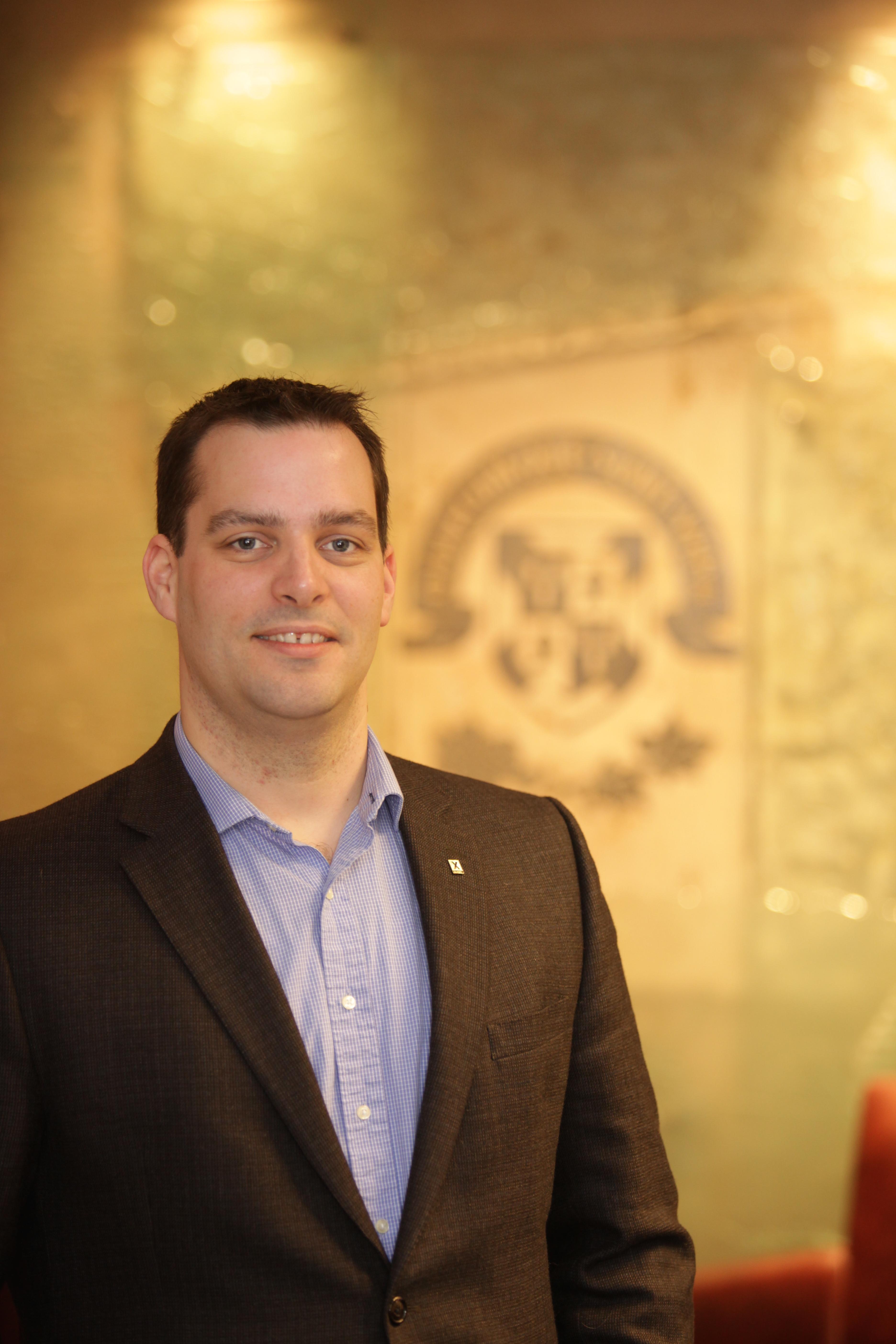 Alumni Association President Glenn Horne